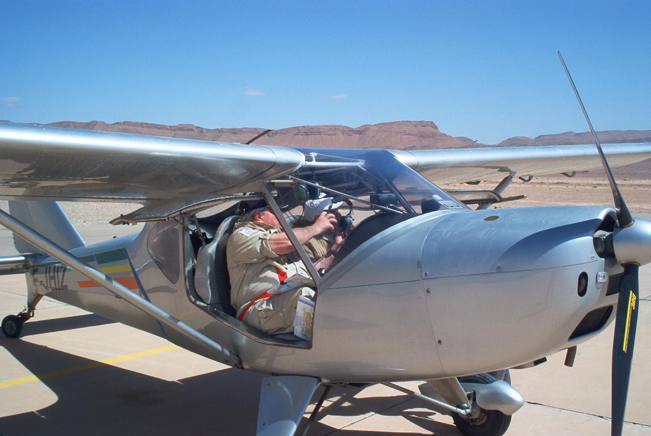 Ikar Ai10 & François en copilote