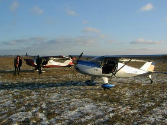 IKAR Ai 10 dans la toundra en UKRAINE