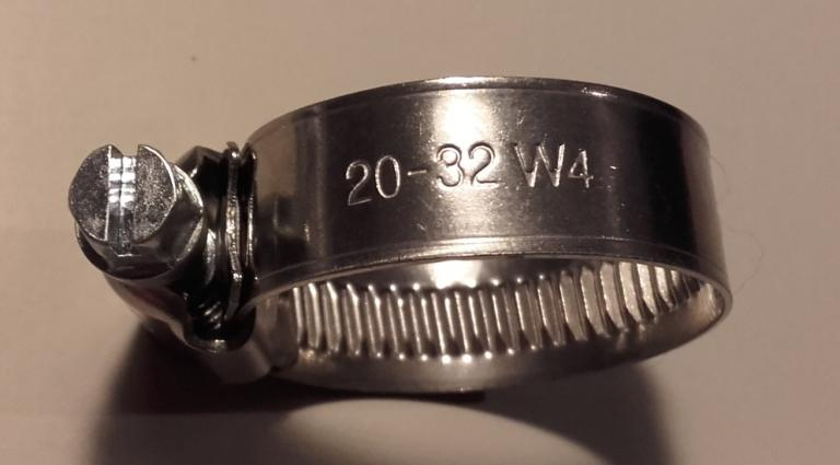"COLLIER INOX 1"" / 12 mm"