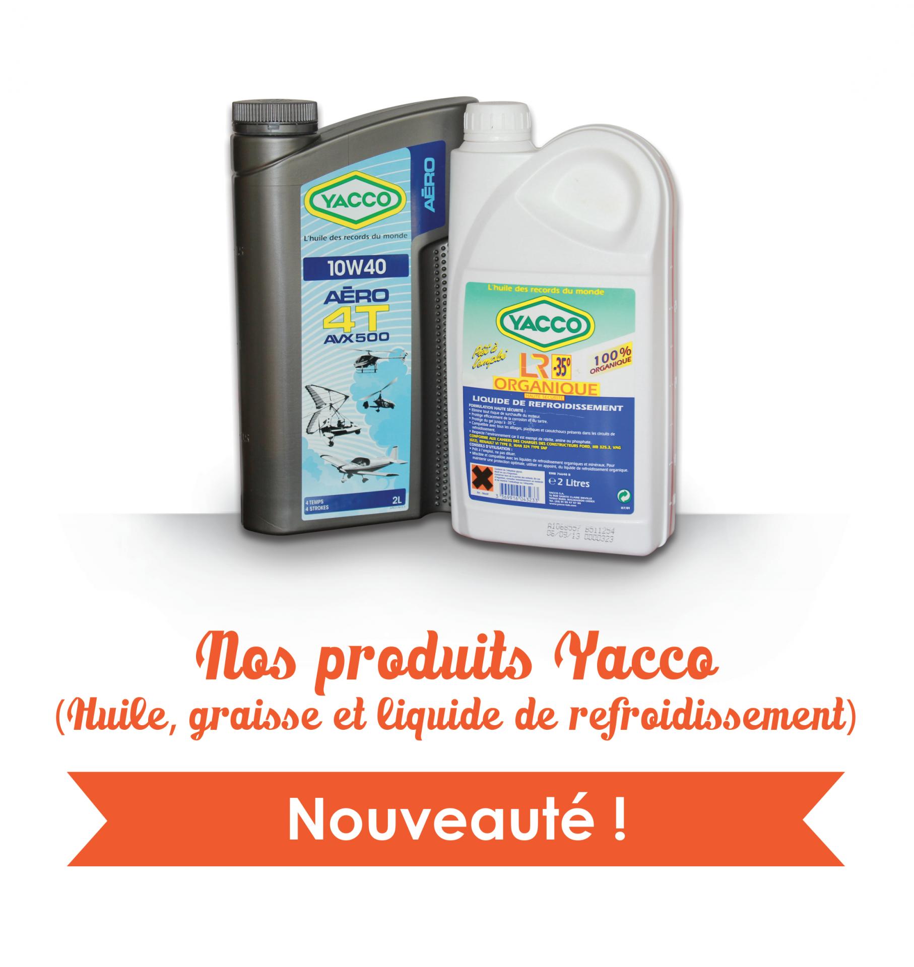 Produits yacco 3