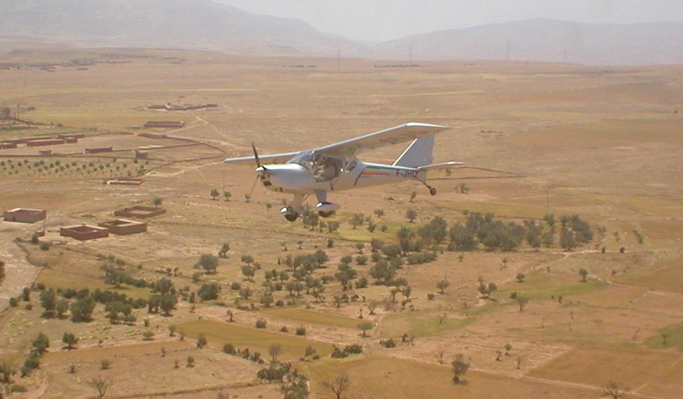 Ikar Ai10 & paysage Marocain