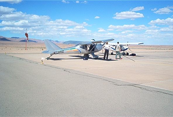 Ikar Ai10 dans le désert Marocain