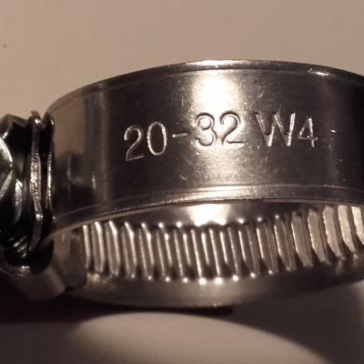 Collier inox 20 32